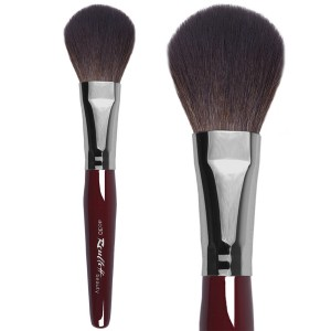 Powder Brush - Oval, Synthetic And Squirrel  Mix