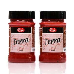 """Terra"""" Terracotta Effect Colour - Marrocon-Red"""