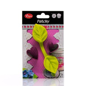 Patchy Heart Leaf With Puncher