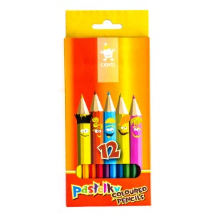 "Set Of School Col.Pencils ""Centi""  12Pcs"