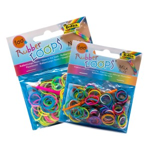 Rubber Loops 100 pcs