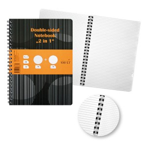 2In1Spiral Notebook A4.100Lh.80G