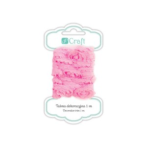 Decorative Ribbon, 1M - Sugar Pink