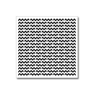 Stencil-Mask Chevron Pattern 15,2*15,2Cm Thickness