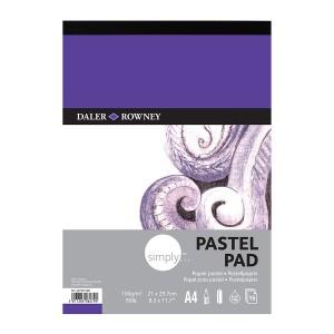 Simply A4 Pastel Pad 16Sh  Daler-Rowney
