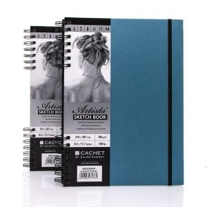 Sketchbook CACHET ARTIST?S A4 ,40sh,160g/m , Daler-Rowney,Blue