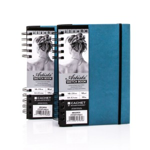 Sketchbook CACHET ARTIST?S A5,40sh,160g/m , Daler-Rowney,Blue