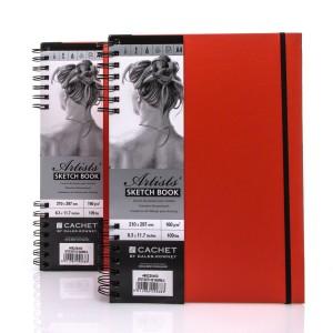 Sketchbook CACHET ARTIST?S A4 ,40sh,160g/m , Daler-Rowney,Tangerine