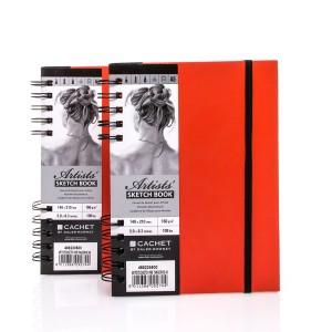 Sketchbook CACHET ARTIST?S A5,40sh,160g/m , Daler-Rowney, Tangerine