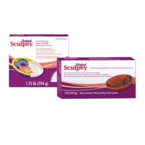 Sculpey Original -- Terra Cotta, 1 Lb. (454 G)