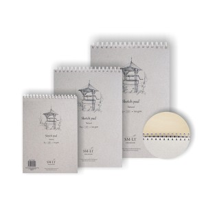 Sketch Pads Authentic (Natural)A3,  100 Sheets (10