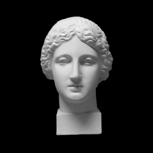 Plaster Cast The Head Of Muse