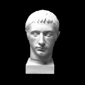 Plaster Cast The Head Of Germanicus