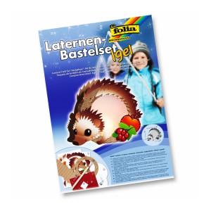 Lantern Craft Set Hedgehog,23X33Cm