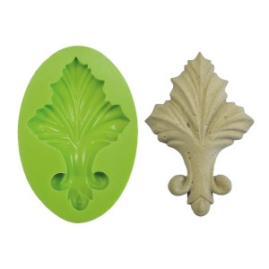 3D Silicone Mold Baroque Lily