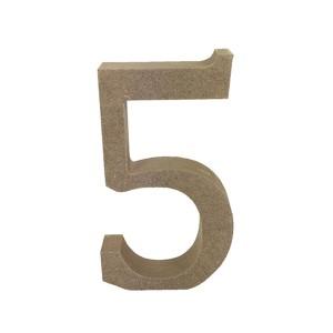 Mdf Number Blank  5