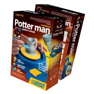 217001E The set Potter man «Vases»