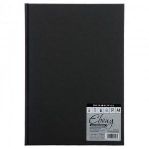 Ebony Sketchbook  A4,62sh ,150g/m