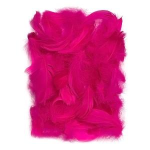 Feathers 5-12 Cm, 10 G Dark Pink