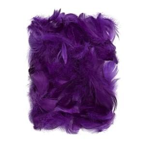 Feathers 5-12 Cm, 10 G Purple