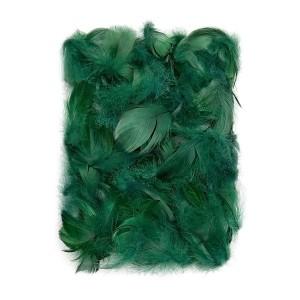 Feathers 5-12 Cm, 10 G Dark Green