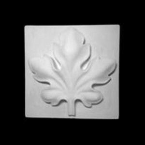 Plaster Modell For Painting Grape Leaf