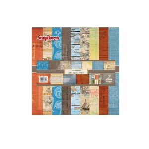 Paper Collection Set Antique Shop (12*12-180gsm),