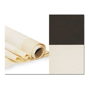 Primed Cotton Canvas, Width 2Х3M, Extra Fine Grain, Black