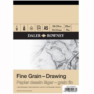FINE GRAIN DRAWING PAD A5 120G