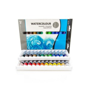 """""""Simply""""24x12 ml  Set Water colour  Daler-Rowney"""