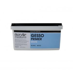 Acrylic Primer Gesso Daler-Rowney White 1L