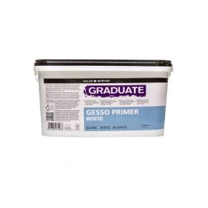 Acrylic White Primer Gesso Daler-Rowney White 5L