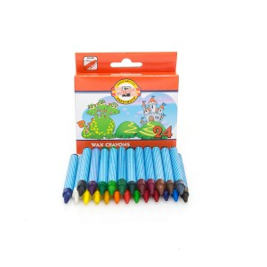 Set Of Wax Pastels 24Pcs