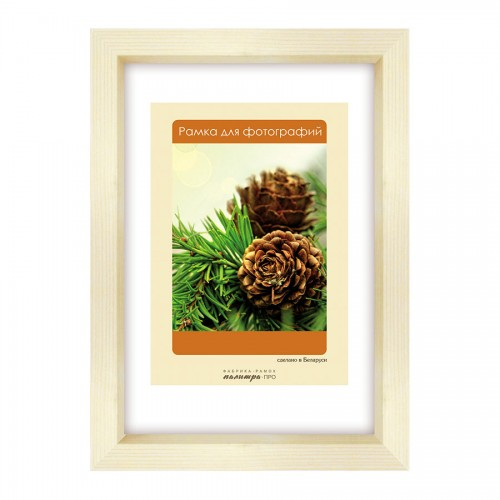 Wooden frame with glass 10х15 D130