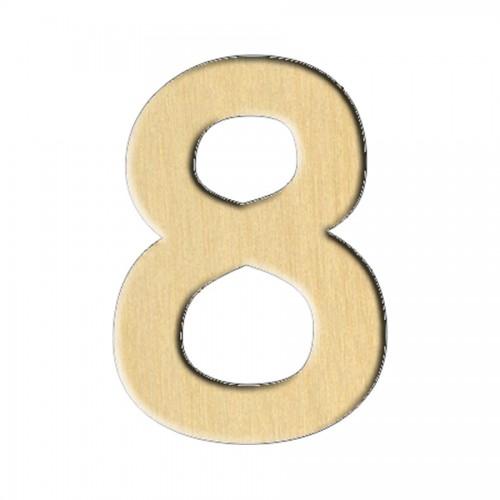 """Wooden pc. for art 118 """"Number 8"""" 2,1х3 cm"""