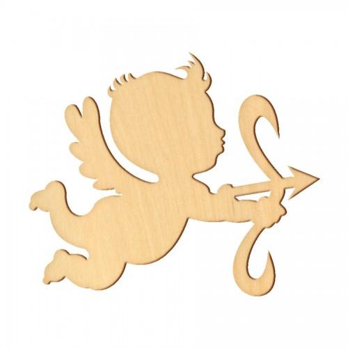 """Wooden pc. for art 349 """"Cupid"""" 10,5х8,5 cm"""