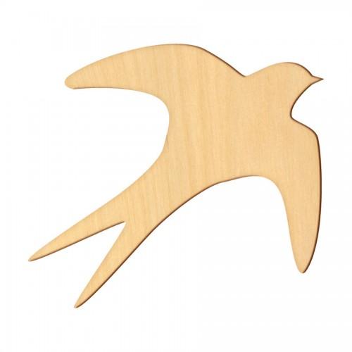 """Wooden pc. for art 365 """"Progne"""" 8х7 cm"""