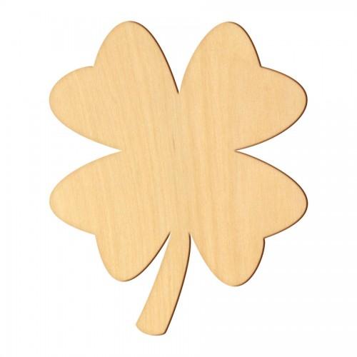 """Wooden pc. for art 369 """"Clover"""" 6,5х8 cm"""