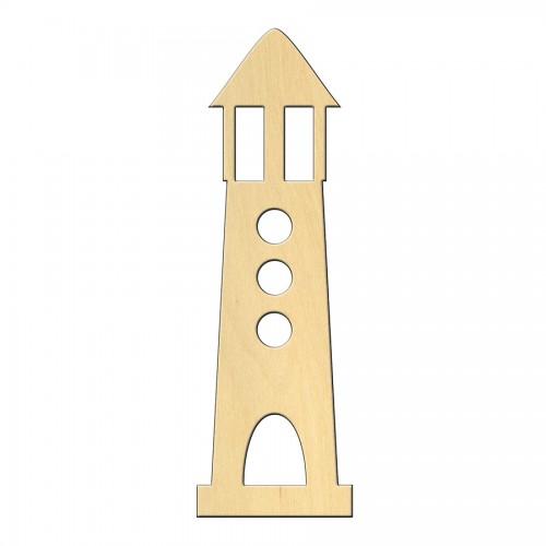 """Wooden pc. for art 449 """"Lighthouse"""" 3,8*12 cm"""