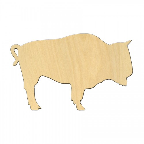 "Wooden pc. for art 467 ""Cow"" 12*8,2 cm"
