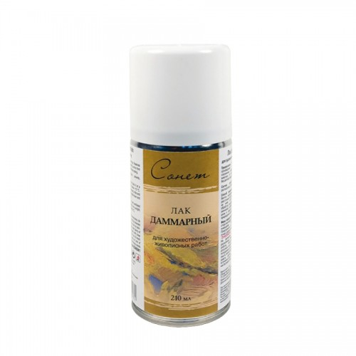 Dammar varnish spray 210ml, Sonet