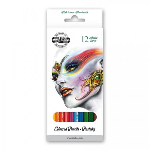 """Set of Coloured pencils  12pcs""""FANTASY"""""""