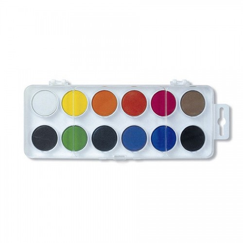 Watercolour KOH-I-NOOR Set 12 Colours In Plastic