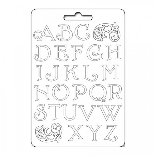 Soft Maxi Mould - Alphabet initials