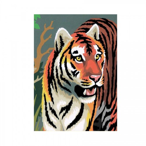 TIGERS MINI PAINTIING BY NUMBERS