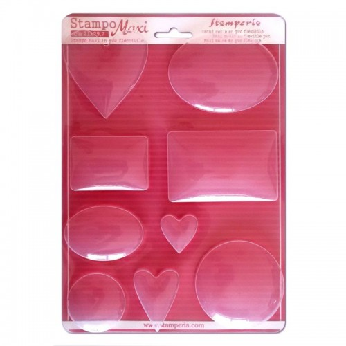 Soft Maxi Mould - Mixed shapes