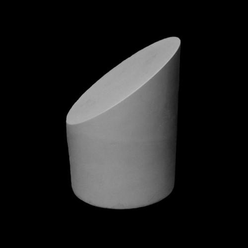 Plaster Cast The Truncated cylinder