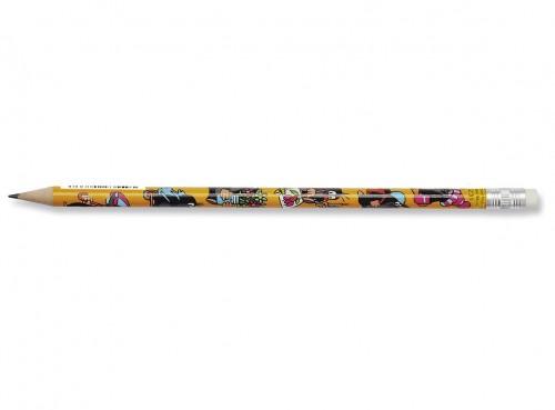 Graphite pencil with eraser 1231 MOLE