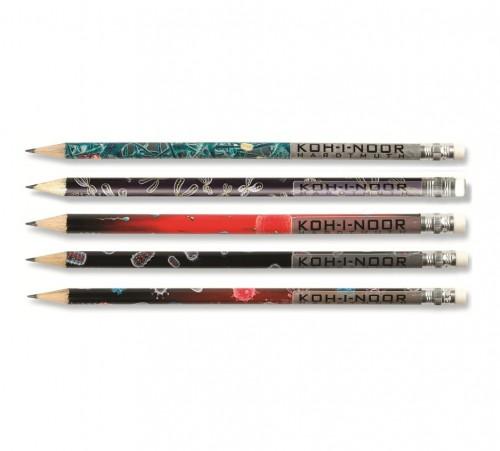 graphite pencil with eraser 1231 MICROCOSMOS