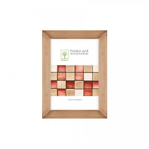 Wooden frame with glass 10х15 Д18К/4265 (hazel)